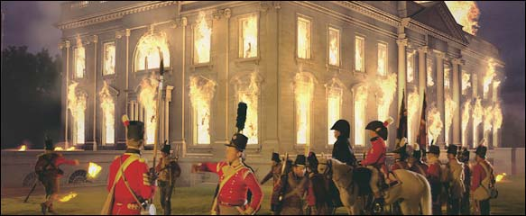 Amazing Pictures Of The Burning Of The White House In 1812 With