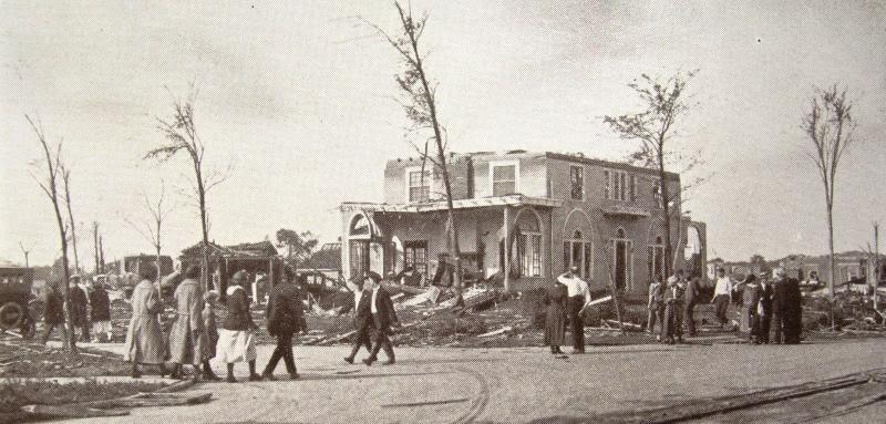 1924 tornado in Lorain, Ohio