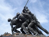 Did you know this about the Iwo Jima Memorial?