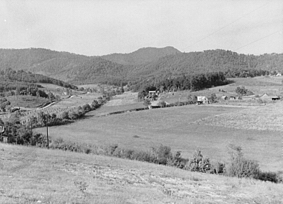 General landscape Ashville, North Carolin June 1939 Marion Wolcott