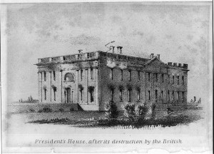White House after it was burned by British 1814