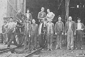 dade county georgia miners 20th century