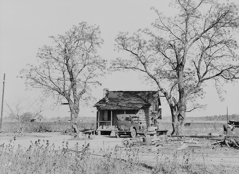 old house North Carolina 1939