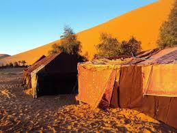 sahara desert tent
