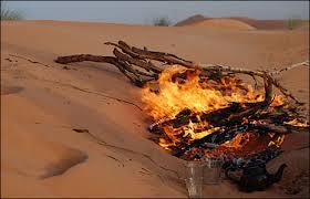 sahara fire