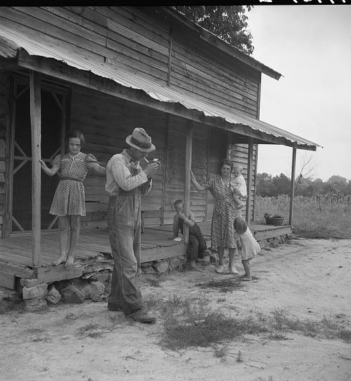 sharecropper 1939 north Carolina