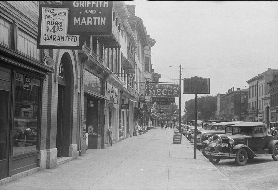 Griffith and martin street scene