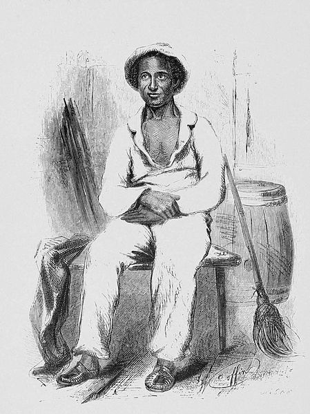 Solomon Northrup ca. 1853 from Wikipedia Commons