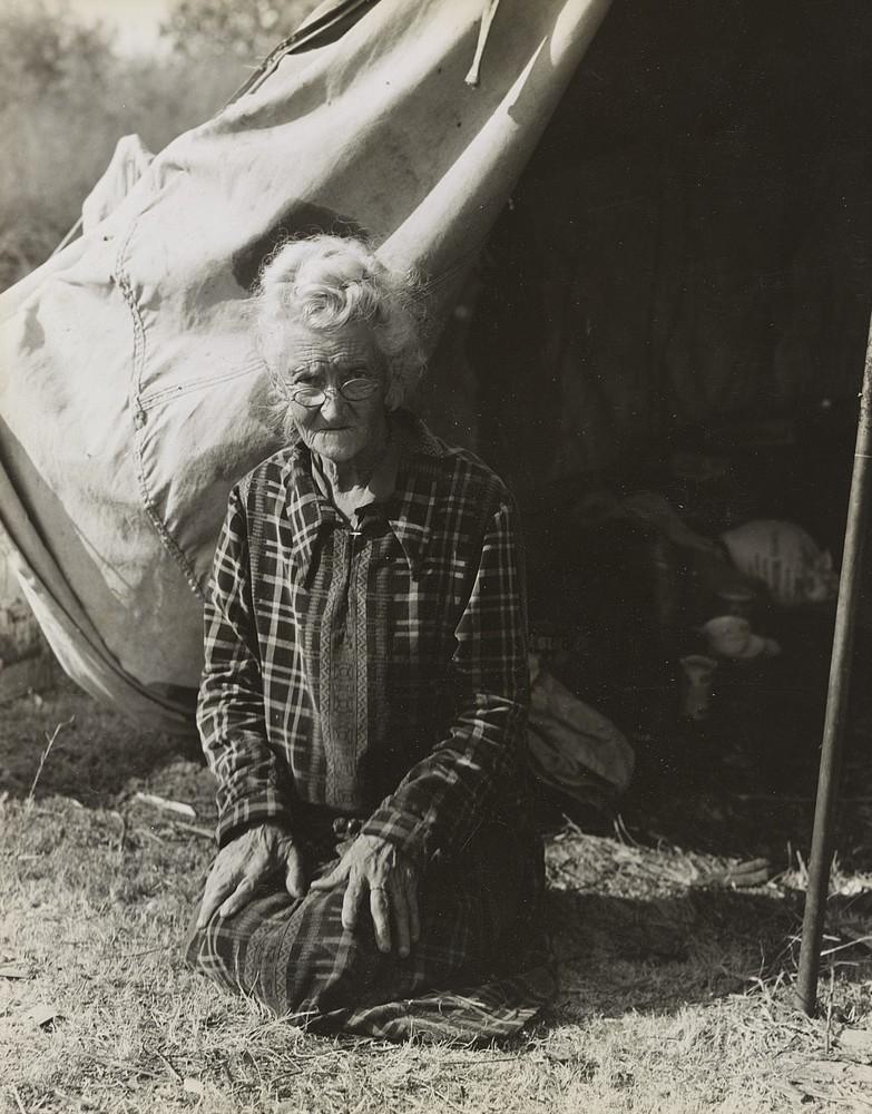 depression Oklahoma grandma - lose pluck 1936