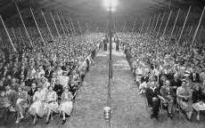 tent revival 1958