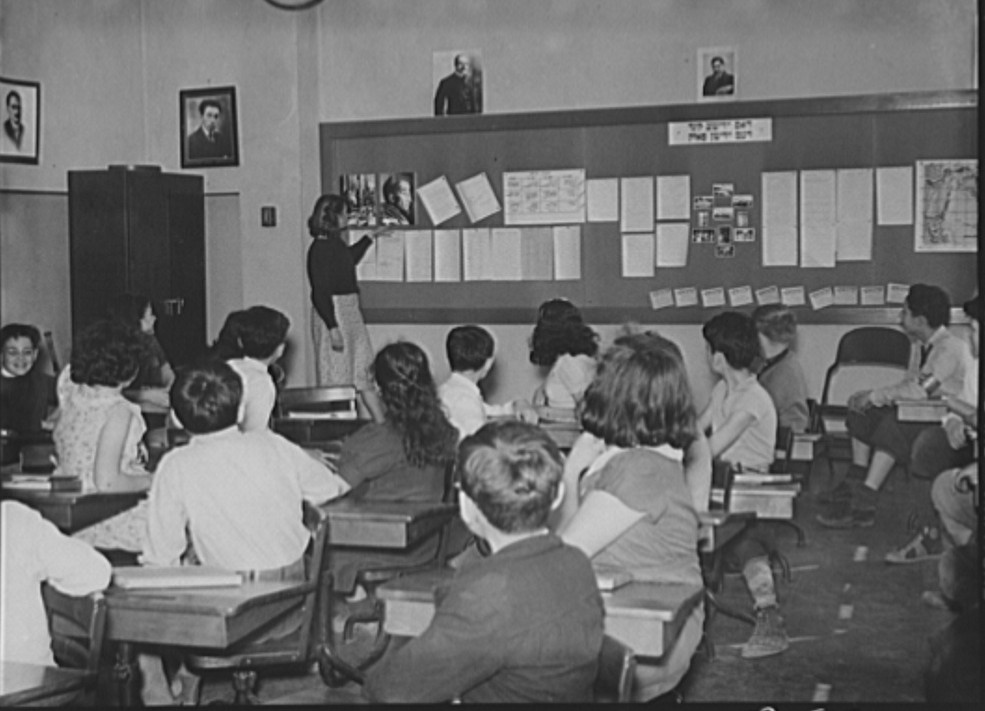 Class room at the Hightstown school. New Jersey may 1938 arthur