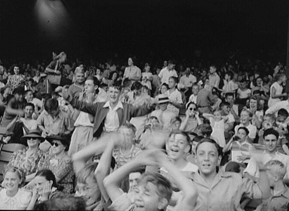 Detroit, Michigan. Kids at a ball game3
