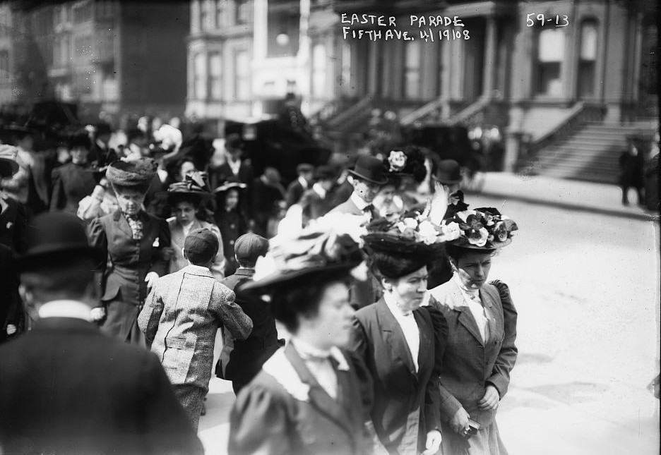 Easter parade 1908