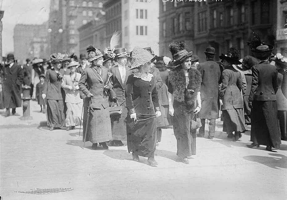 Easter parade 1915