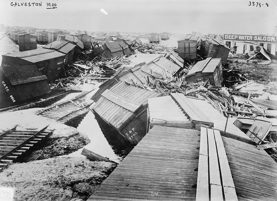 Galveston 1900 by Bain News Service