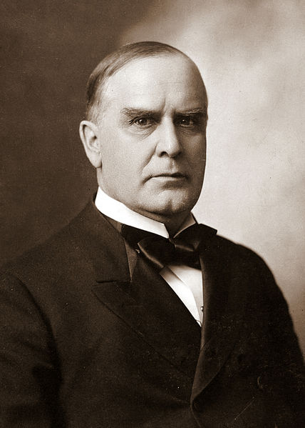 Amazing film of President McKinley taking the oath of office six months before he was assassinated