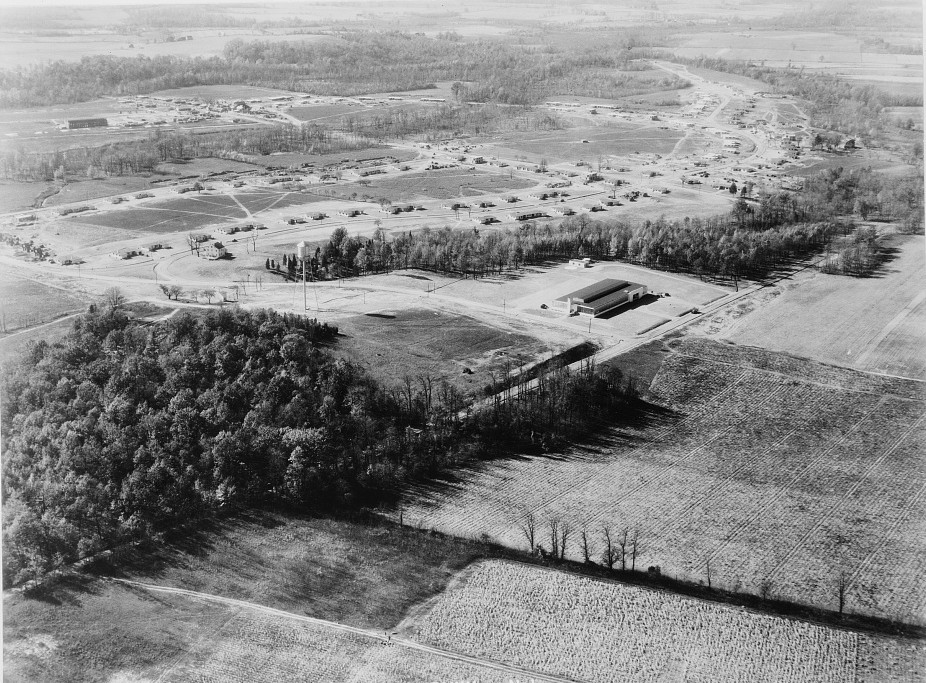 air view of New jersey homesteads nov. 1936