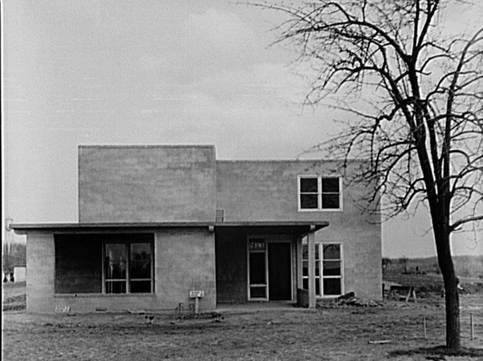 house at jersey homestead 1937 Arthur Rothstein