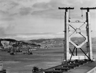 FDR pushed the button to open the San Francisco-Oakland Bridge in 1936