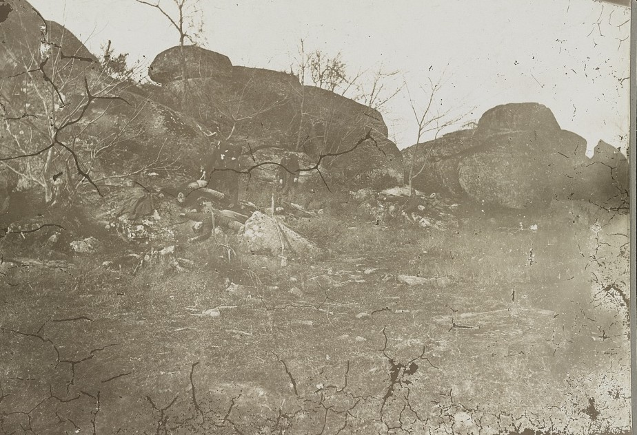 Dead on Little Round Top