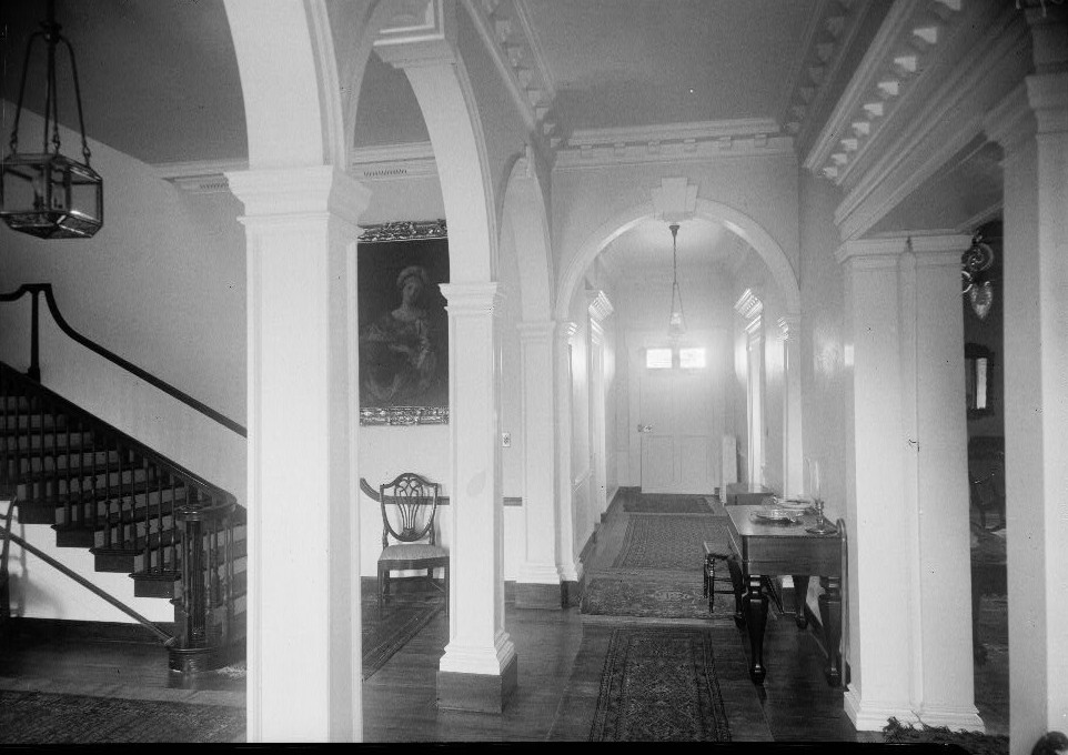 E. H. Pickering, Photographer October 1936 MAIN HALL - Widehall, 101 Water (Front) Street, Chestertown, Kent County, MD