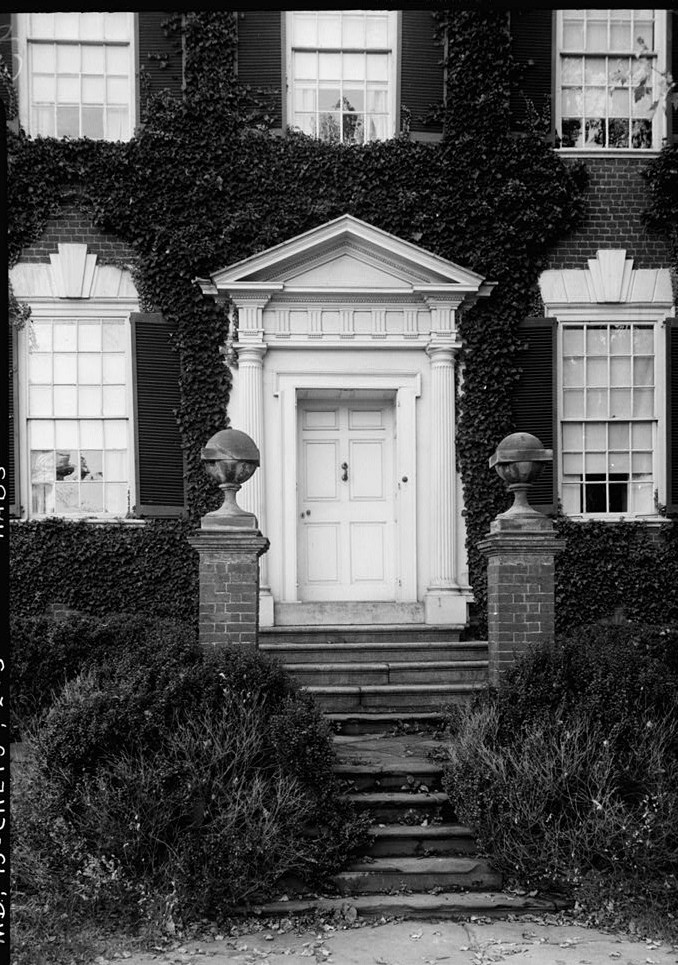 E. H. Pickering, Photographer October 1936 STREET ENTRANCE - Widehall, 101 Water (Front) Street, Chestertown, Kent County, MD