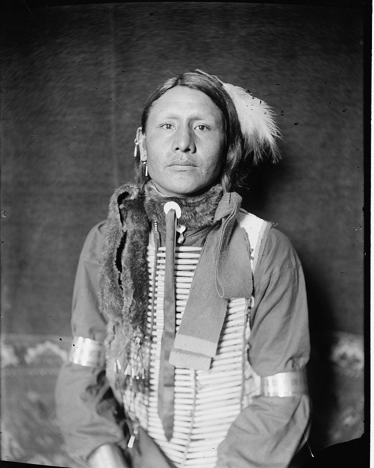 Has No Horses, a Sioux Indian from Buffalo Bill's Wild West Show