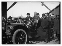 Automobile Races were popular in the early 1900 – [old pictures] and they were dangerous