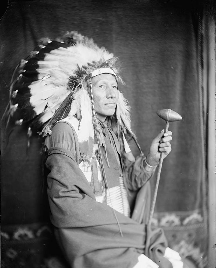 Luke Big Turnips, American Indian