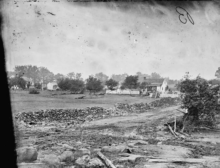 Meade's Hdqs. Gettysburg, Pa.