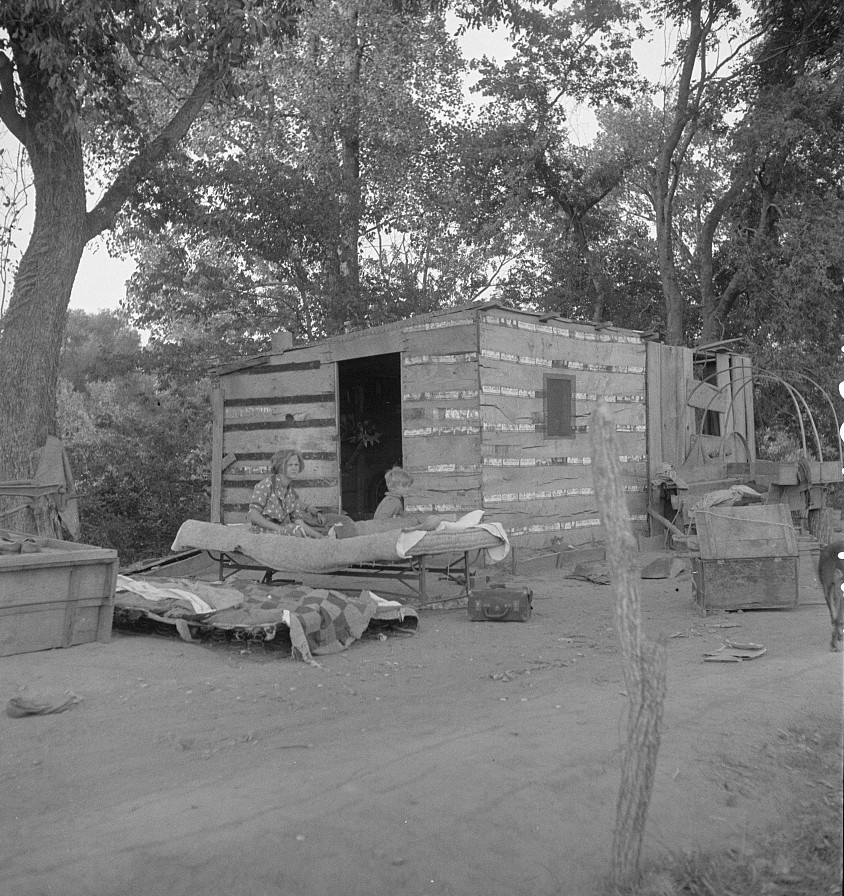 People living in miserable poverty. Elm Grove, Oklahoma County, Oklahoma2 Aug.1936