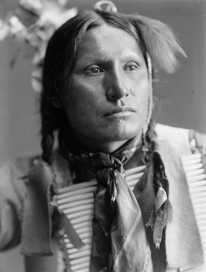 Samuel American Horse members of Buffalo Bill's Wild West Show, taken by photographer Gertrude Kasebier (1852-1934) around 1900