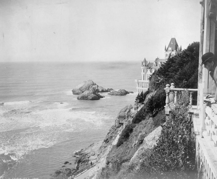 View from cliff house