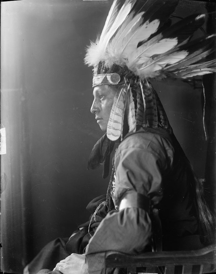 Whirling Hawk, a Sioux Indian from Buffalo Bill's Wild West Show