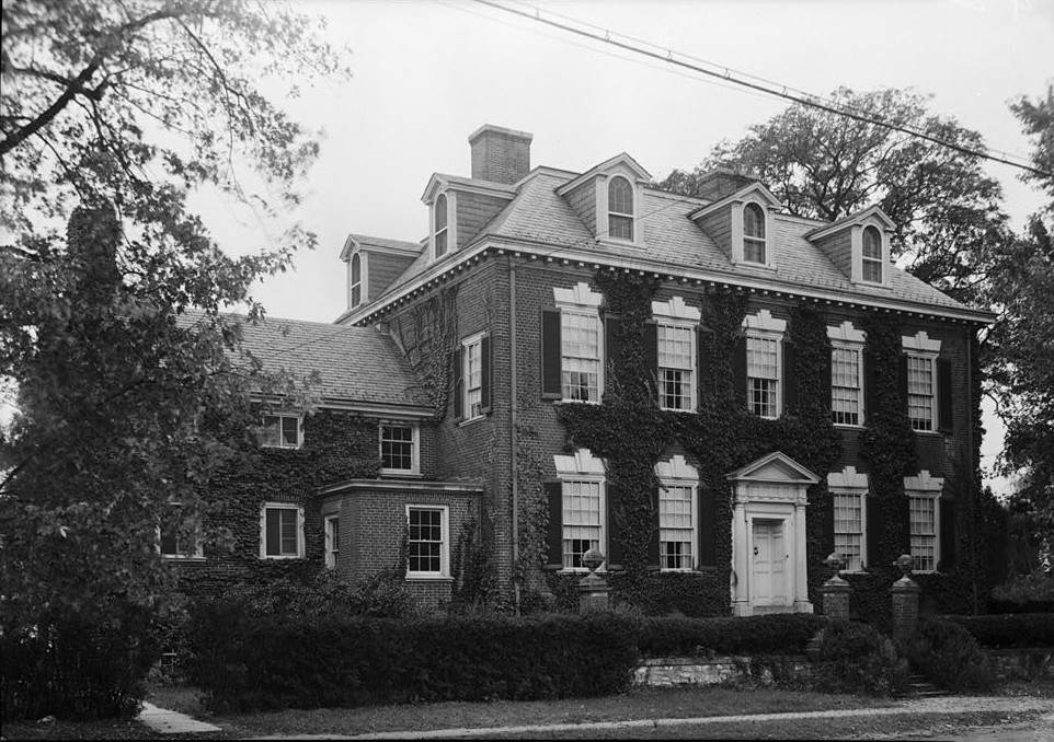 Widehall, 101 Water (Front) Street, Chestertown, Kent County, MD 1936