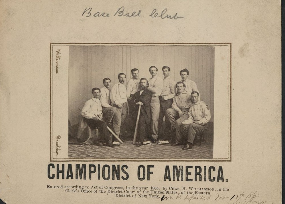 early baseball card