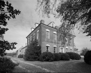 The Pratt mansion carried the sound of a whisper in the hall to the bedroom of the owner