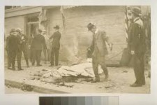 This bombing is probably the first film of domestic terrorism in the United States…a remarkable 1916 video