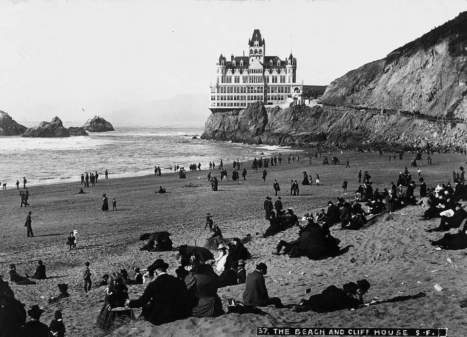 seal rocks and cliff house 1902