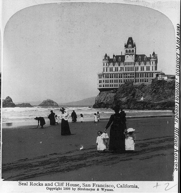 seal rocks and cliff house