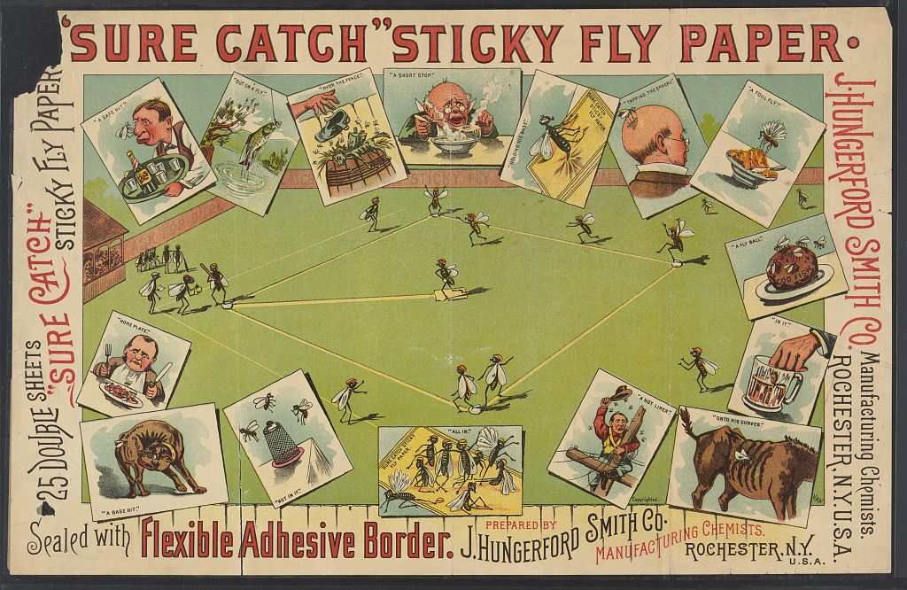 sticky fly baseball