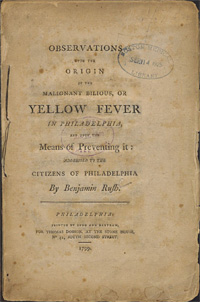 yellowfever benjamin rush