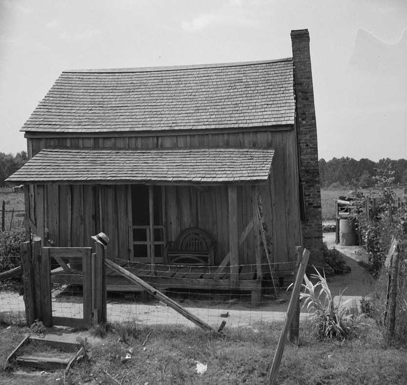 2Home of turpentine workers near Godwinsville, Georgia July 1937 by Dorothea Lange