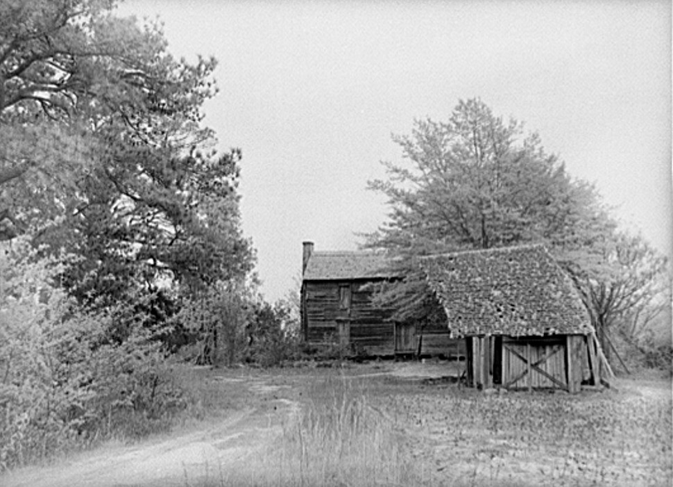Abandoned home. Greene County, Georgia 1939