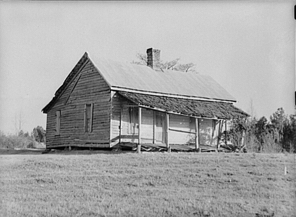 Abandoned home. Greene County, Georgia apr 1939