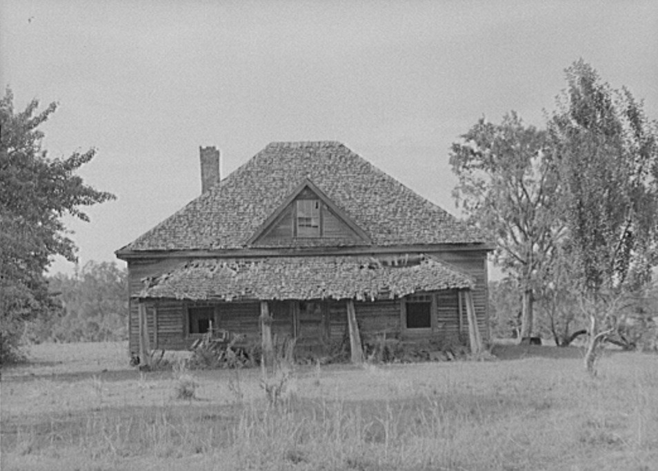 Abandoned home. Greene County, Georgia may 1939