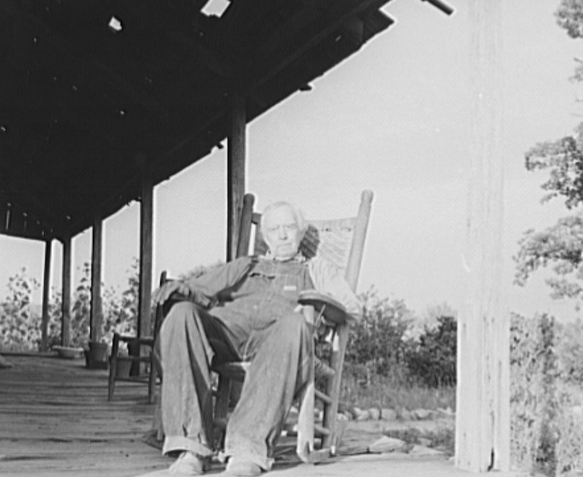 Aged cotton farmer, Greene County, Georgia. He inherited his lands which are now heavily mortgaged 1937 dorothea lange