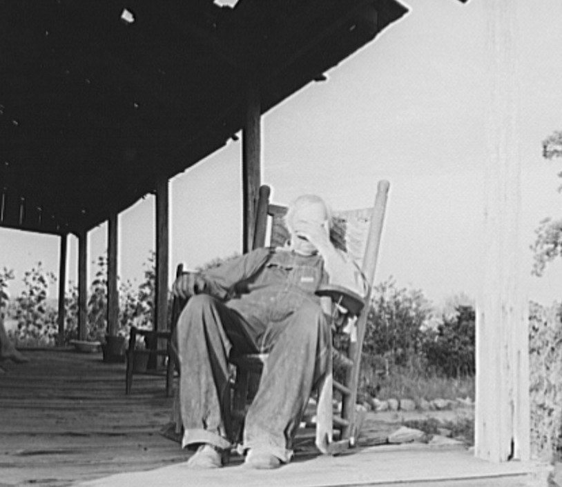 Aged cotton farmer, Greene County, Georgia. He inherited his lands which are now heavily mortgaged2 1937 dorothea lange