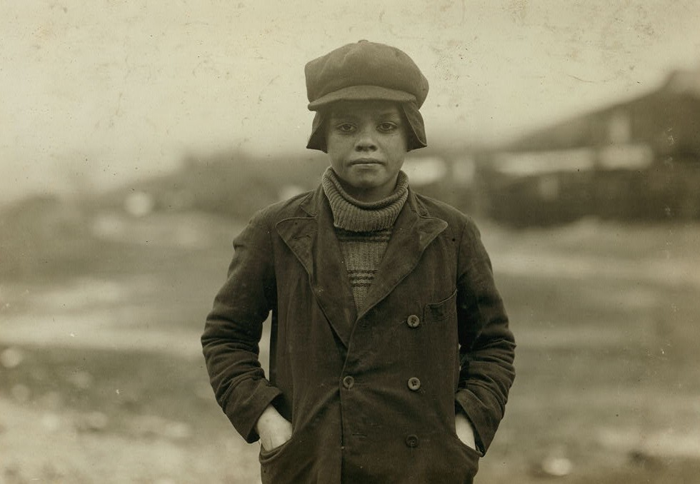 Angelo Ross, 142 Panama Street, Hughestown Borough. A youngster who has been working in Breaker #9 Pennsylvania Company for four months, said he was 13 years old, but very doubtful.