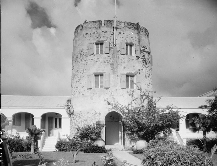 Bluebeard's Castle, Frederiksberg Estate, Charlotte Amalie, St. Thomas, VI ca. 1933 front
